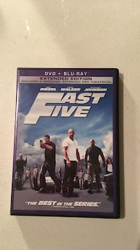 DVD + Blu-Ray Fast Five case Houston, 77079