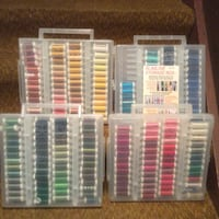 Gigantic Sale—quilting kits, fabric,hoops embroidery thread and hoops and diskettes.sewing machine, numerous  notions. Appleton, 54915