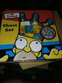 Simpsons chess set  Binghamton, 13904