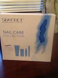 Brand new Seacret nail care collection