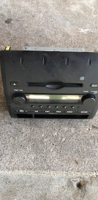 black 1-DIN car stereo head unit Sacramento, 95815