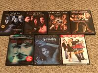 7 DVDs- 5 used and 2 new. Gardena, 90247