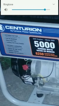 Centurion 5000 running watts brand NEW they are750 Winchester, 40391