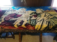 6FT X 5FT RELIGIOUS TAPESTRY HEAVY BEAUTIFUL Pawtucket