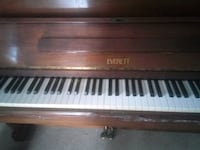 brown Everett upright piano Arlington, 22201