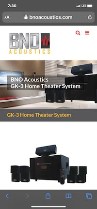 Home Theater System Weston, 06883