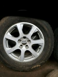 17 inch 5x112 rims and tires