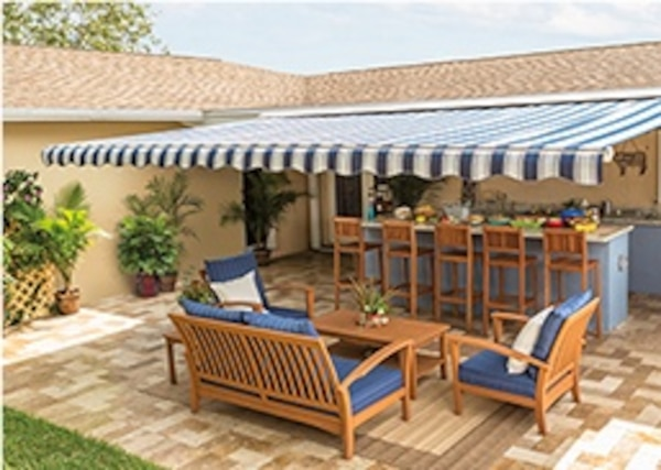 Used Retractable Awning (SunSetter/instant Shade) for sale ...
