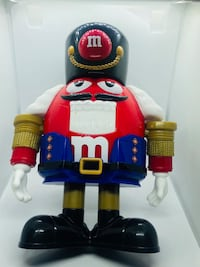 M&M's Limited Edition Holiday Chocolate Candy Dispenser Nutcracker Sweet Red Cockeysville, 21030