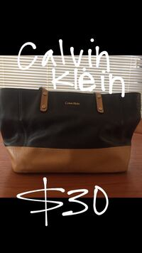 black and brown leather tote bag San Diego, 92117