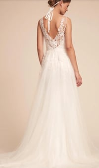 New whimsical white gown Carrollton, 75006