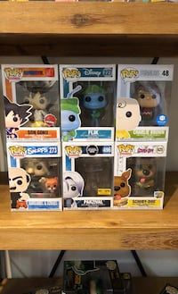 Assorted funko pops all for 60 or 10 each  Vaughan, L6A