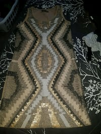 sequin gold dress  3156 km