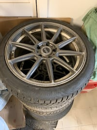 BMW or any other sport car mags 19 inch comes with brand new tires Côte-Saint-Luc