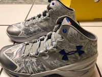 Stephen Curry Shoes 2.0 (Silver/Blue) Chicago, 60641