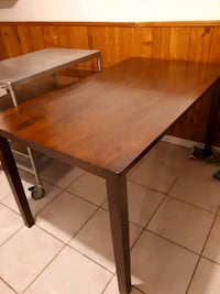 wooden dining table Mississauga, L5M