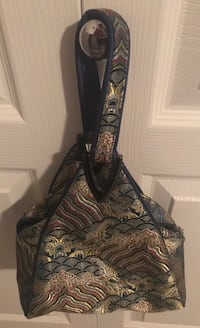 Brand new embroidered handbag Delta, V4C