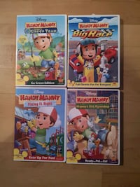 Set of 4 Handy Manny DVD Laval, H7X
