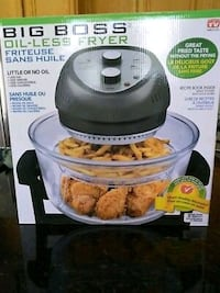 Oil-less fryer by Big Boss Lakewood Township, 08701