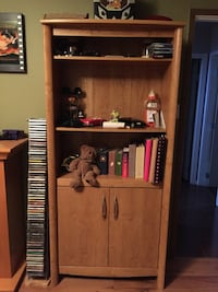 brown wooden cabinet with shelf Kelowna, V1Y