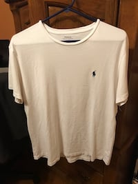 Polo Ralph Lauren T-Shirt Color: White Size: Men's Medium Orange Park, 32065