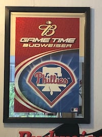 Philadephia Phillies and Eagles Budweiser Signs Silver Spring, 20905