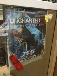 Sony PS3 Uncharted 4 game case