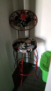 Vintage cast iron 1950 stool