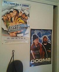 Jay and silent bob posters autographed by jay