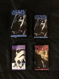 Star Wars Trilogy VHS Box Set 1995 Edition 545 km