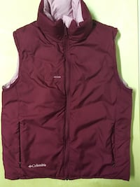 COLUMBIA REVERSIBLE VEST SIZE SMALL JACKET WOMENS CLOTHING OUTERWEAR  Edmonton, T6J