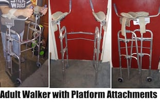 Adult Walker with Platform Attachments
