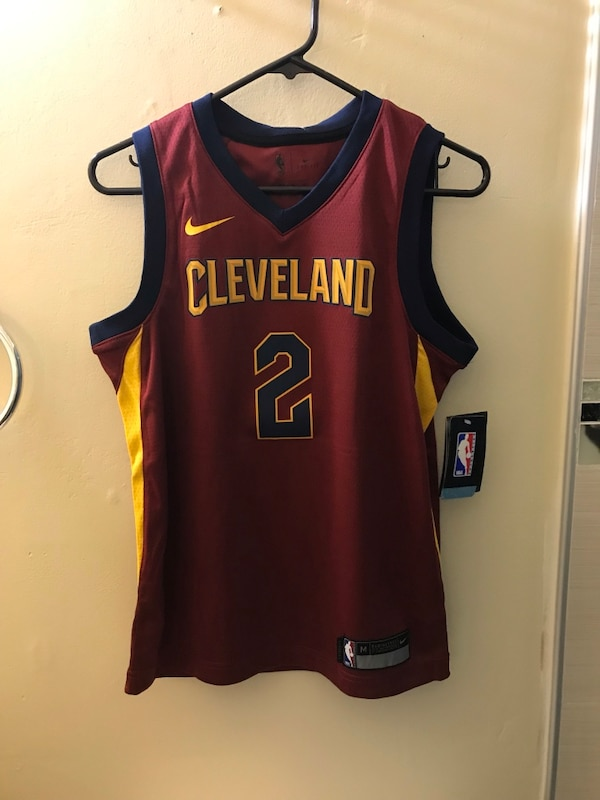 finest selection dc7e4 e9beb NBA Kyrie Irving Cleveland Cavaliers Jersey Youth M Medium or Youth XL  Xlarge