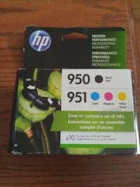 HP #951 & #950 combo pack. Unopened. Decatur, 62526