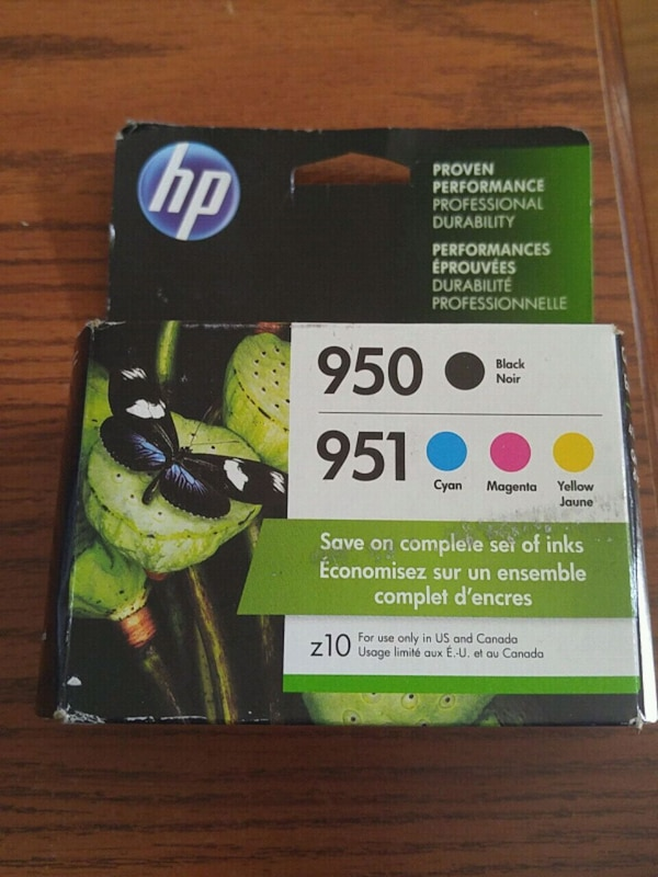 HP #951 & #950 combo pack. Unopened.
