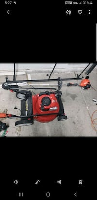 Brand new gas lawnmower and gas echo weedeater Las Vegas, 89103