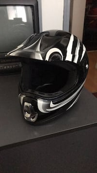 Dirt bike full face helmet
