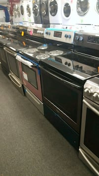Brand new scratch and dent electric stoves