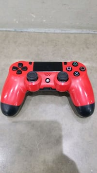 Red PS4 Controller