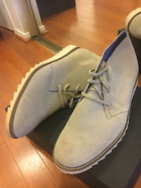 Pair of gray suede  boots size 11.5 Alexandria, 22304