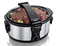 Slow Cooker -Hamilton Beach 6 Quart Stay or Go™ Slow Cooker(Reg.Price $56.97) Pickering