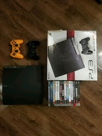 PS3 250GB, 2 Controllers, 14 Games Toronto, M6J 0A9