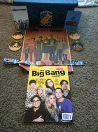 Big bang theory items