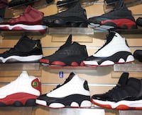 couleurs assorties non assorties lot de chaussures de basket Air Jordan