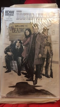 Doctor who comic book: Welcome to Undeadwood  Indianapolis, 46260