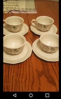 Tea cups with saucers Attleboro, 02703