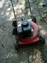 red and black push mower Anniston, 36201