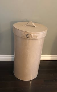 Faux leather laundry basket Mississauga, L4W 2G3