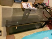 Glass and Metal TV stand Odenton, 21113