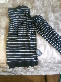 black and white striped long-sleeved shirt Modesto, 95358
